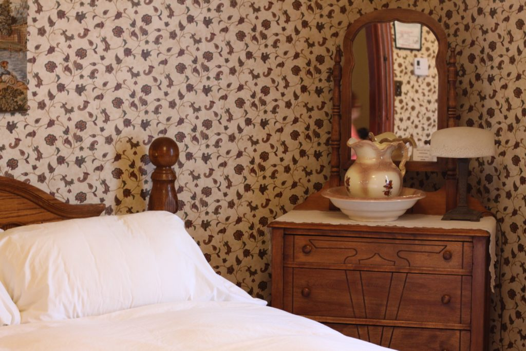 Every room is furnished with fine period furniture, and has its own distinct character.