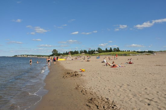 Parlee Beach Provincial Park - Canada's finest (and warmest!) saltwater beach!